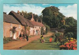 Small Postcard Of Winkle Street,Calbourne,Isle Of Wight,England,S115. - Angleterre