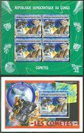 République Démocratique Du Congo - BL799 (2797) + BL800 (2798) - Vol Spatial - Les Comètes - 2012 - MNH - Democratic Republic Of Congo (1997 - ...)
