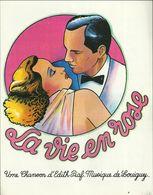 """"""" La Vie En Rose """" Edith Piaf - Musique De Louiguy - Slow Chanté - Papier Glacé - Musica & Strumenti"""