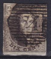 Belgique - N°6 - P74 LIERRE - 1851-1857 Medallions (6/8)