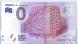 2016 BILLET TOURISTIQUE 0 Euro Billets  Marseille    Dpt 13   Port 1.30 Numero Aleatoire - EURO