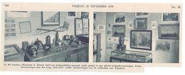 Orig. Knipsel Coupure Tijdschrift Magazine - Deurne - Tentoonstelling In Museum Sterckxhof Over Oorlog 14-18 - 1939 - Sin Clasificación