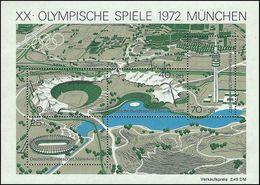 ** Germany - 1972 - Olympic Games 1972 - Mi. (723-6), Bl. 7 - Summer 1972: Munich