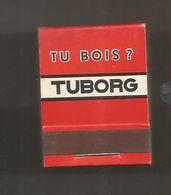 Boite D'allumettes , Pochette, Tu Bois ? TUBORG , Tuurluk... TUBORG ,  2 Scans - Matchboxes