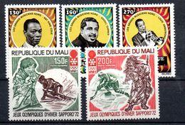 H1-24 Mali PA N° 137 à 141 ** - Mali (1959-...)