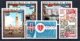 H1-24 Mali PA N° 142 à 146 ** - Mali (1959-...)