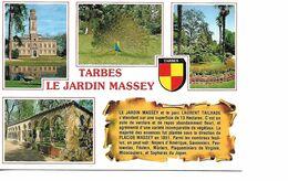 65 TARBES  Cpm Multivues Le Jardin MASSEY - Tarbes