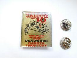 Beau Pin's ,  Jeu , Casino , Cartes , Colt , Saloon N° 10 , Deadwood Dakota Territohy - Steden