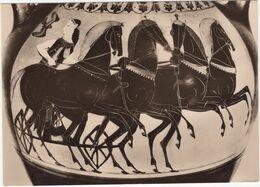'Die Meister' Nr. 378: Die Göttin Eos Mit Viergespann - Attische Amphora - Etruskisches Museum, Rom - (1960) - Musées