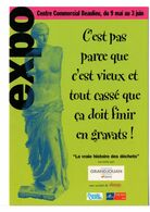 CPM PUBLICITAIRE -  LA VRAIE HISTOIRE DES DÉCHETS - Pubblicitari
