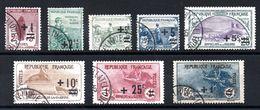 FRANCE - YT N° 162 à 169 - Cote: 255,00 € - Used Stamps