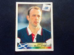 PANINI Football FRANCE 98 N°42 Gary Mc Allister Scotland Ecosse Escacia Schottland Scozia Stotsko - Französische Ausgabe
