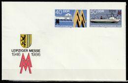 R.D.A.   Leipziger Messe 1986    Entier Postal  ** - [6] Democratic Republic