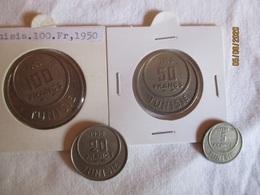 Tunisie: 100, 50, 20 & 5 Francs 1950 - Tunisia