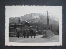 BELLA FOTO 1951 A CORTINA D'AMPEZZO DOLOMITI BELLUNO ANIMATA ANIMEE - Orte