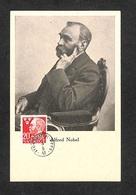 SUÈDE - SVERIGE - Carte MAXIMUM 1948 - Alfred NOBEL (1833-1896) - Cartoline Maximum