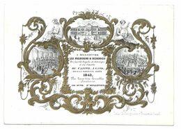 Gand Gent Casino 1843 Porceleinkaart - Porzellan