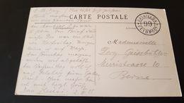Les Gorges De Perrefitte - Feldpost - Bataillon 99 - Poststempel