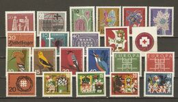 Allemagne Fédérale 1963 - Année Complète MNH - 262/83 - Briefmarken