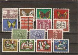 Allemagne Fédérale 1962 - Année Complète MNH - 247/60 - Briefmarken
