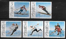 FUJEIRA   N°   Oblitere   Jo 1972  Ski Patinage Hockey Sur Glace - Winter 1972: Sapporo