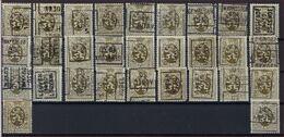 Zegel Nr. 280 (29 X) Allen Voorafgestempeld In 1930 En Merendeel In Goede Staat ; Zie Ook Scan ! Inzet Aan 10 €  ! - Precancels