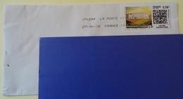 TIMBRE VIGNETTE MON TIMBRE EN LIGNE LETTRE PRIORITAIRE INSPIRATION SUR ENVELOPPE - 2010-... Illustrated Franking Labels