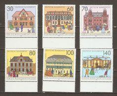 Allemagne Fédérale 1991 - Bureaux De Poste Du Passé - Série Complète MNH BDF - 1395/1400 - Briefmarken
