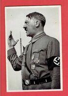 IMAGE CHROMO ALLEMANDE ADOLF HITLER EN TRES BON ETAT - Documenti