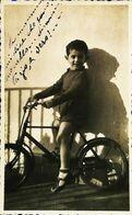 VÉLO Photo (Dimension Cpa) - Enfant Garçon Bambino à La Bicyclette  Italie 1939  (Wielersport Cycling Cyclisme) - Cycling