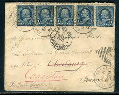 Etats Unis - Enveloppe De Evanston Pour La France En 1898 - Prix Fixe !!!!! - Réf A 72 - Covers & Documents