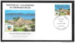 1987 - 537 - Nouvelle Mairie Du Mont Dore - FDC