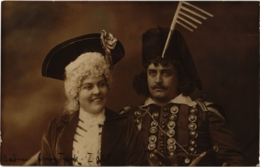 CPA Hongrie THEATRE Star Baron Trenk (93941) - Teatro