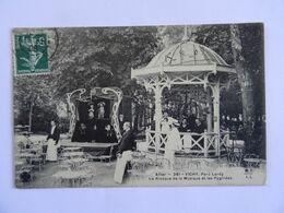 CPA  03 VICHY Place Lardy Le Kiosque De La Musique Et Les Pygmées  1906 TBE - Vichy