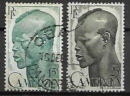 CAMEROUN     -   1946.    Y&T N° 292  &  294  Oblitérés. - Cameroun (1915-1959)