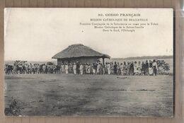 CPA CONGO FRANCAIS - BRAZZAVILLE - MISSION CATHOLIQUE - Première Compagnie De La Saharienne En Route Pour Tchad - Brazzaville