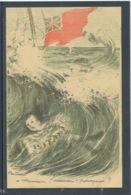 10772 Naufrage Lusitania Coulé Guerre 14-18 - 1200 Morts - Maman !, Maman ! Pourquoi ? Illustrateur Poulbot - Weltkrieg 1914-18