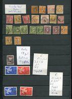 Griechenland Lot Gest+xx+falz #dx1382a-d - Collections
