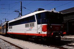 Photo Diapo Diapositive Slide Train Wagon Locomotive Electrique SNCF BB 17059 à Cardinet Le 18/07/96 VOIR ZOOM - Diapositive