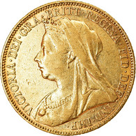 Monnaie, Australie, Victoria, Sovereign, 1899, Melbourne, TTB+, Or, KM:13 - Victoria