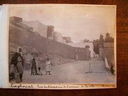 ANCIENNE PHOTO DE LAGOUAT 1899 - Autres