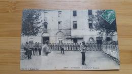 CARTE  POSTALE   GRAY  -  12e  HUSSARDS   -  L  APPEL AU  1er    ESCADRON 1913 - Regimente