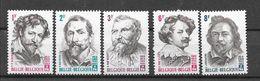 België 1965 Y&T Nr° 1322/26  (**) - Belgium