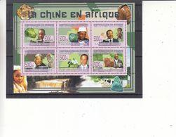 Minéraux - Kabila - République De Guinée - Yvert 3972 / 7 ** - Malachite - Cuivre - Bauxite - 15 Euros - Minerals