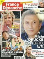FRANCE DIMANCHE AVRIL 2020 ADIEU MONSIEUR UDERZO ASTERIX ET OBELIX ORPHELINS - Giornali