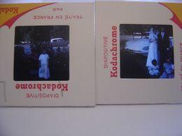 LOT Diapositive Film Positif Photo Diapo Slide CITROEN DS ID ? Automobile Car - Diapositive