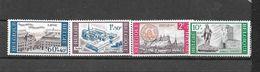 België 1966 Y&T Nr° 1385/88  (**) - Belgium