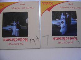 LOT 5 Diapositive Film Positif Photo Diapo Slide CITROEN DS ID ? Automobile Car - Diapositive