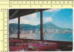 HONG KONG - THE HONGKONG HOTEL OVERLOOKING THE WORLD'S MOST MAGNIFICIENT HARBOUR OLD POSTCARD - Cina (Hong Kong)