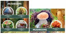 Maldives. 2020 Mushrooms. (0101)  OFFICIAL ISSUE - Funghi